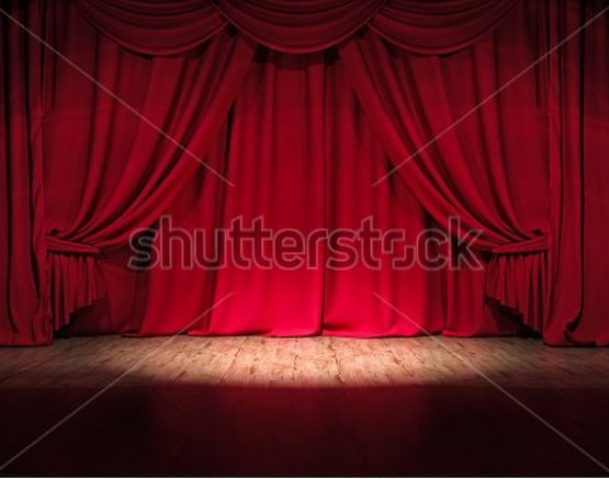 theater stage Photography Backgrounds High-grade Vinyl cloth Computer printed red curtains backdrops<br><br>Aliexpress