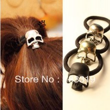 vintage Skull Hair Band Jewelry personality hair rope HAIR BAND DISCOUNT New style free shipping
