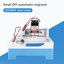 New 1000mw DIY Laser Engraving Machine Cutting Plotter Powerful Version Carved Machine Small Micro Mini Engraving Machine