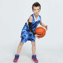 2017 Newest Boys and Girls Basketball Jerseys Sets Kids Throwback Basketball Jerseys Blank Custom Team Uniforms Training Suits
