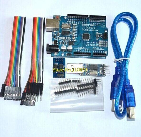 ESP8266 WIFI develop Kit module+UNO R3 MEGA328P for Arduino Compatible+ CH340G module<br><br>Aliexpress