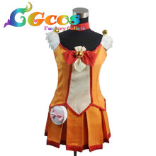 CGCOS Free Shipping Cosplay Costume Suite PreCure Hino Akane New in Stock Retail / Wholesale Halloween Christmas Party Uniform