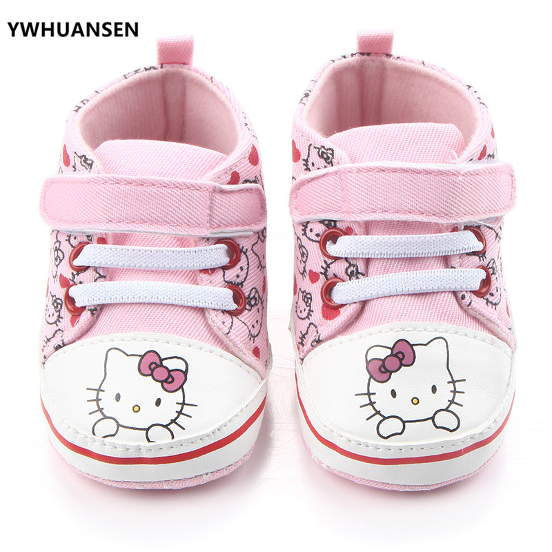 Mother & Kids Official Website Factory Price Baby Girl Soft Sole Shoes Dots Bowknot Toddler Anti-slip Shoes Newborn