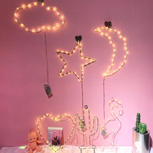 3D Desk Unicorn Lamp LED Table Night Light Battery Power Flamingo Cactus Fairy Outdoor Christmas Home Party Decoration Wall Lamp(China)