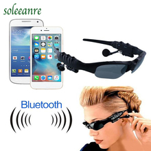Soleeanre Wireless stereo bluetooth 4.1 earphone handfree sunglasses earpiece music eyes glasses headset headphone for cellphone