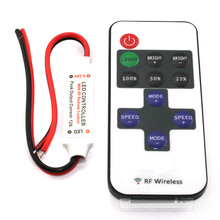 12V 11 Keys Mini RF Controller For Led Strip 5050/3528 Single Color Remote Lighting Home Science