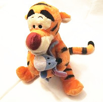 Original Rare Tigger Hug Eeyore Tiger Donkey Animal Soft Stuff Plush Toy Kids Birthday Gift