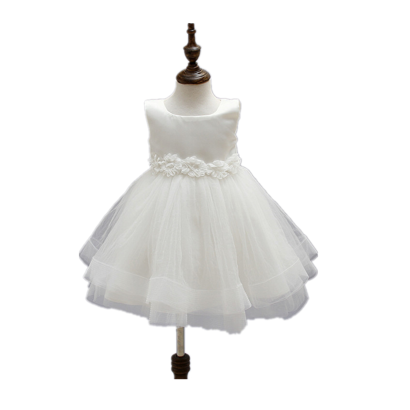 BBWOWLIN Ivory Baby Girls Dress for 1 To 2 Years Birthday Party Christening Costumes Mesh + Cotton 8026<br><br>Aliexpress
