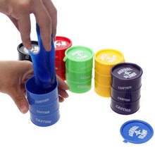 New Barrel Slime Fun Shocker Joke Gag Prank Gift Crazy Trick Party Supply Paint Bucket Novelty Funny Toys Gags & Practical Jokes(China)