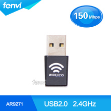 Azurewave AW-NU138 150M Wifi 802.11BGN USB High Gain Atheros AR9271 150Mbps Wireless Mini 150M USB 2.0 Wi-Fi network Lan card