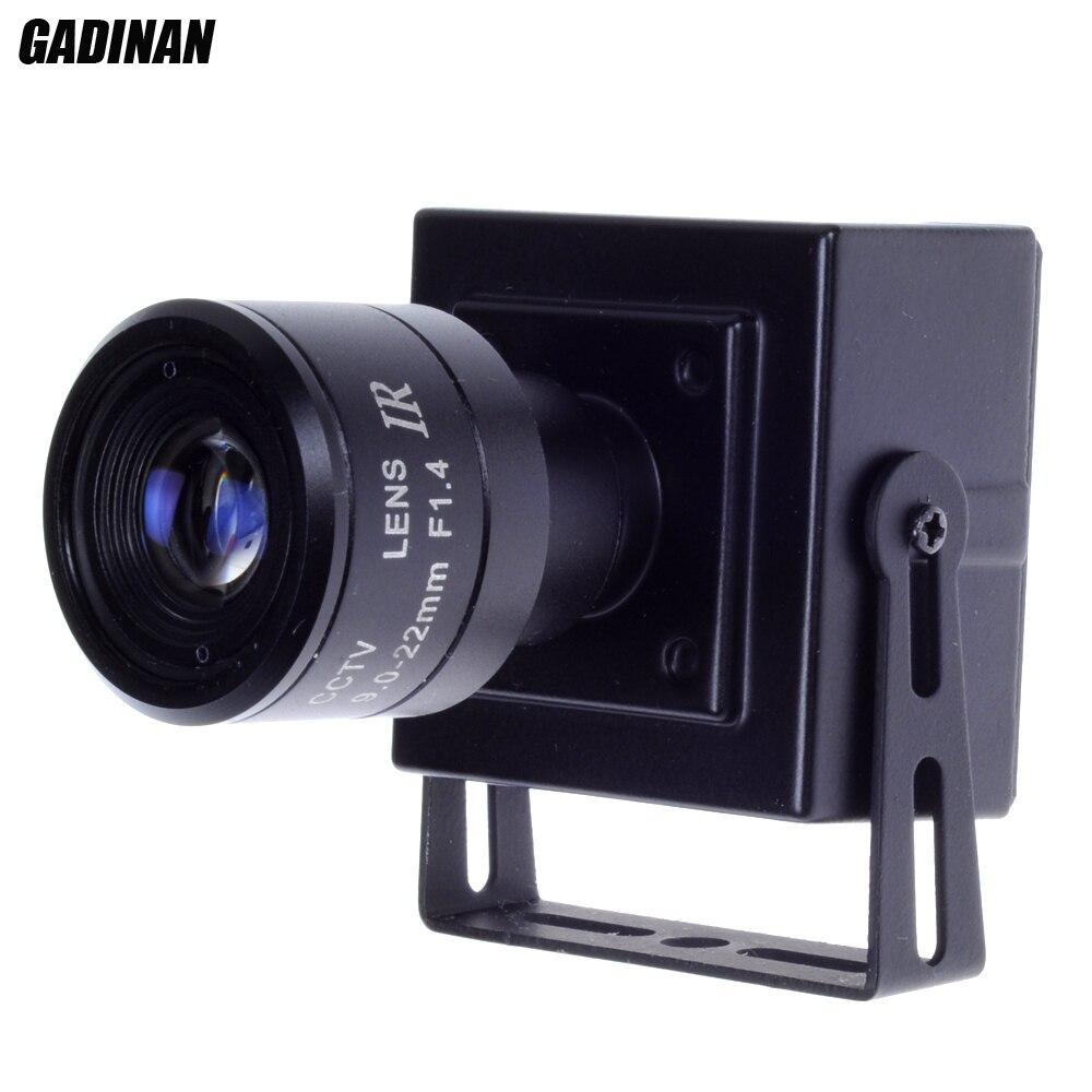 720P/960P Mini 9-22mm manual varifocal lens Network CCTV Securiy Camera POE IP Camera Support ONVIF XMeye<br><br>Aliexpress