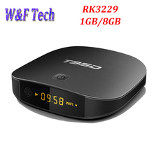 10pcs Android 6.0 RK3229 4K TV Box 1G RAM 8G eMMC H.265 WiFi Set Top Box 3D Media Player T95D Set top tv box with i8 Optional