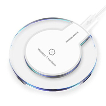Universal Qi Wireless Charger Charging Pad Thin Power Bank Transmitter for Samsung Galaxy S6 S7 S8 Edge Plus Note 5 Yotaphone 2
