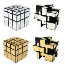 ShengShou Magic Cube 3x3x3 Strengthen Professional Magnetic Speed Magic Puzzle Cube Straight Drawing Mirror Twist Game Cubo(China)