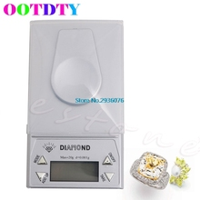OOTDTY 20g * 0.001g LCD Digital Pocket Scales Gram Jewelry Scale Weight Balance MY8_10 - Niu Besting Store store