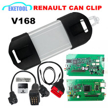 Top Rated 2017 Newest V168 Renault Can Clip Professional Diagnostic Scanner Multi-Language Good PCB Board Normal Chip Renault