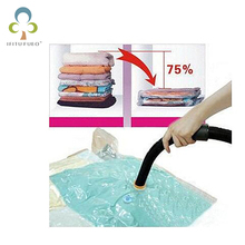 Wardrobe decultter. Space suit bag 4 size NO wall hanger hook home Vacuum vacuum-seal Storage Hanging bags(China)