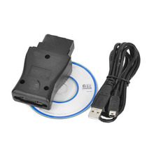 NS 14pin USB Interface Auto Diagnostic Tool OBD2 Cable Connects to PC via RS232 14pin OBD interface