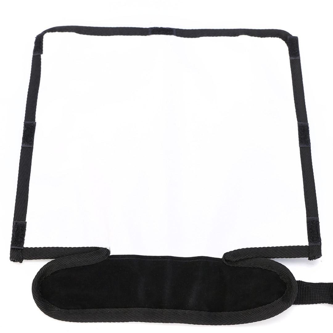Mayitr Universal Foldable Diffuser Snoot Flexible Speedlight Reflector Flash Softbox Snoot Sealed Diffuser Beander Beam