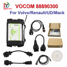 DHL Free For Volvo 88890300 Vocom Interface for Volvo/Renault/UD/Mack Truck Diagnose For Volvo Vocom 88890300 for Volvo Vcads(China)