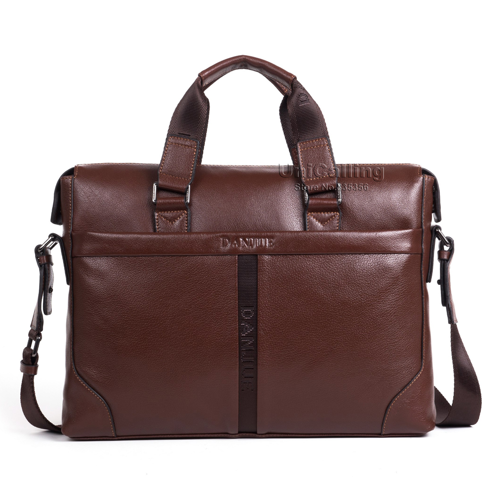 High-end quality top layer cowhide genuine leather fashion laptop bag handbag full grain cow leather large capacity business bag<br><br>Aliexpress