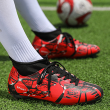 PINSV Football Boots Men Soccer Shoes Superfly Cheap Football Shoes Sale Kids Cleats Soccer Shoes Superfly Chuteira Sneakers