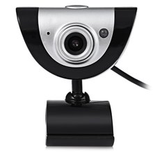 A880 USB 16 Megapixel Built-in Microphone Camera Web Cam with Mic Support Night Vision for Desktop Laptop Skype