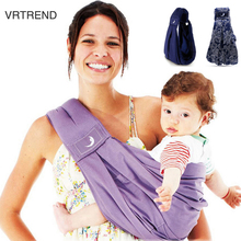 Excellent!High Quality Organic Cotton + Sponge Baby Sling Baby Carrier Baby Backpack Carrier/Baby Suspenders Good Protection(China)