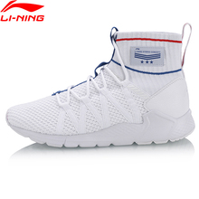Buy Li-Ning Men PLANET Sport Walking Shoes Support Sneakers Sock-Like Stability LiNing Sneakers Fitness Sports Shoes AGLN007 YXB130 for $58.39 in AliExpress store