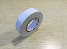 18mm Width Self Adhesive White PVC Insulating Tape Roll 20M(China)