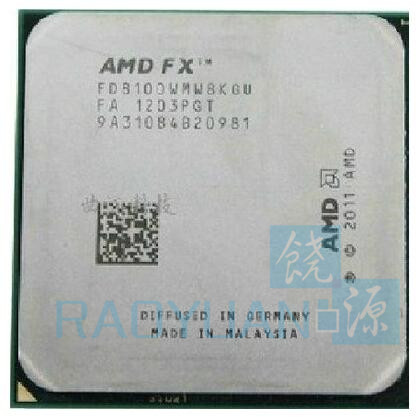 AMD CPU Processor FX Fx-Series FX-8100 Am3  Eight-Core Fd8100wmw8kgu-Socket Ghz title=