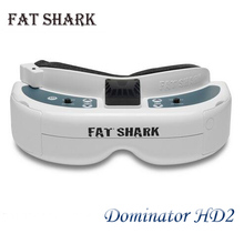 Hot New FatShark Dominator HD 2HD Image Transmission DVR Recording SVGA 800x600 FPV Video Glasses Fast Shipping