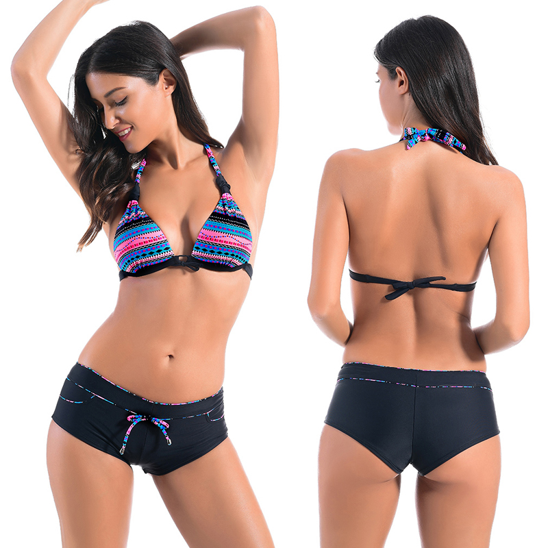 womens swimwear 2017 Sexy Low Waist Bikinis Women Maillot de Bain Femme Swimwear Women Biquini Brazilian Bikini Swimsuit <br>