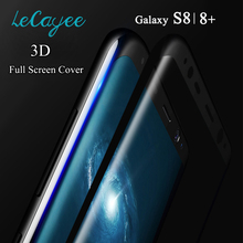 3D Curved Full Cover Tempered Glass For Samsung Galaxy S8 S8 Plus 3D Glass Full Coverage Screen Protector for Samsung S8 Plus