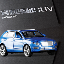New Collection Alloy Diecast Car Model 1:32 Bentley EXP 9F SUV with Pull Back Cars Model For Kids Toys Gifts Free Shipping