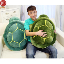 OHMETOY Sea Turtle Plush Toys Baby Doll Tortoise Sofa Cushions Cuckold Pillow Birthday Gift Valentine Day 25-58cm Blue Green