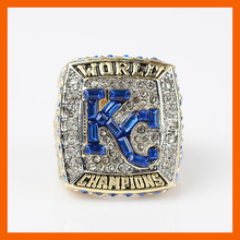 2015 KANSAS CITY ROYALS WORLD SERIES RECTANGLE STONE FRONT CHAMPIONSHIP RING