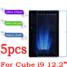 "For CUBE i9 Screen Protector Clear Glossy Matte Nano Anti-Explosion For CUBE i9 12.2"" Tablet Protective Film(Not Tempered Glass)"