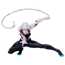 Marvel 16cm Lady Amazing Spiderman Spidergwen BJD Spider Man Figure Model Toys with Retail Box(China)