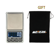 Buy Meterk Precision Balance Mini Digital Scale Professional Weight Weighing balance Electronic pocket Jewelry Scale 1000g*0.1g+ bag for $9.79 in AliExpress store