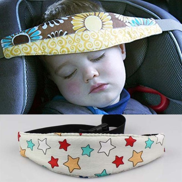 Baby And Infants Head Support Stroller Safety Strap Seat Fastening Belt Adjule Playpens Sleep Positioner