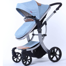 European Folding Luxury Baby Umbrella Car Carriage Kid brand Buggy Stroller Pram Style Travel Wagon Portable Lightweight(China)