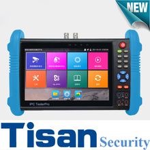 H.265 4K IPC9800Plus IP tester Analog HD&EX-SDI IP TVI CVI AHD CCTV Camera tester Monitor support TDR test,Optical power meter(China)