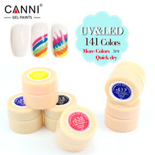 #50618 New Fashion Painting Gel Non-toxic Fast-drying Nail Gel UV/LED Lamp Canni Nail Art Soak off  141 Colors Gel