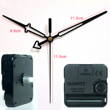 Shinfuku wall clock mechanism with 10# hands Plastic Movement DIY Clock Accessory kits Sweep Quartz Movement TS-631E-B1