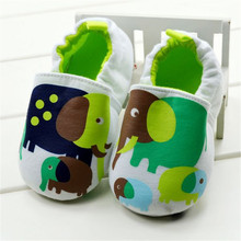 White elephant baby shoes toddler shoes baby cotton-padded shoes 1157