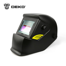 DEKOPRO Basal Black Solar Auto Darkening MIG MMA Electric Welding Mask Helmet Welding Lens for Welding Machine or Plasma Cutter