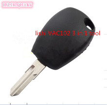 HXLIWLQLUCKY new repair tool lishi VAC102 2 in 1 tool accessories for renault key free shipping(China)