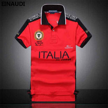 EINAUDI New Men Embroidered Polo Shirt Fashion Man Slim Fit High Quality Air Force One Airline Summer Mens Lapel Polo Shirts 545