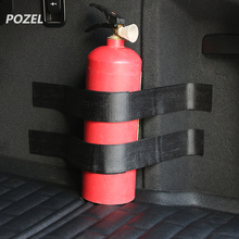Black Roll Bar Fire Extinguisher Holder Car Styling For Suzuki VITARA Works Baleno Celerio Swift